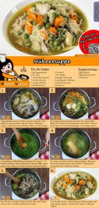 Hühnersuppe Rezept mit Video