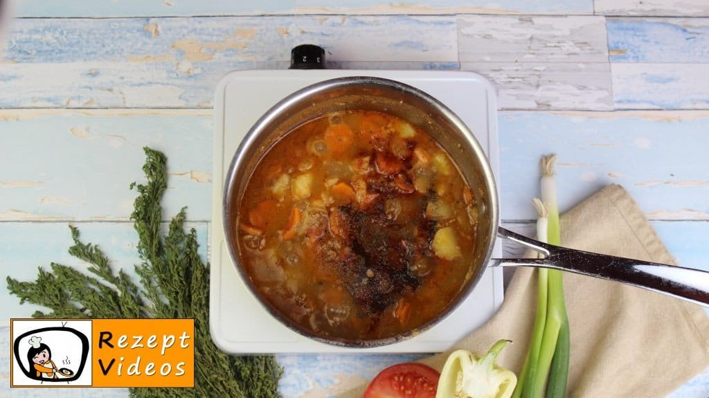 Eintopf mit Hackfleisch Rezept - Zubereitung Schritt 7