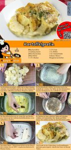 Kartoffelgratin Rezept mit Video