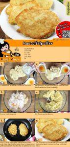 Kartoffelpuffer Rezept mit Video