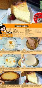 Käsekuchen Rezept mit Video