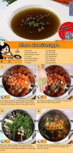 Klare Gemüsesuppe Rezept mit Video