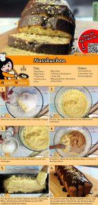 Nusskuchen Rezept mit Video
