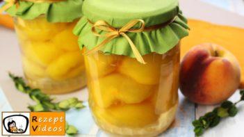 Eingemachte Pfirsiche