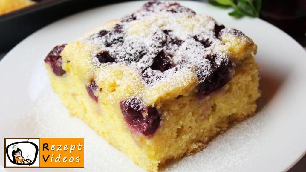 Kirschkuchen - Rezept Videos