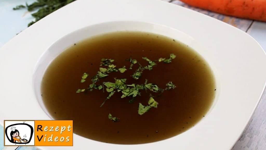 Klare Gemüsesuppe - Rezept Videos