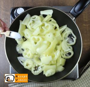 Eier-Letscho - Rezept Zubereitung Schritt 2