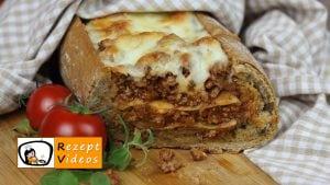 Lasagne-Baguette - Rezept Videos