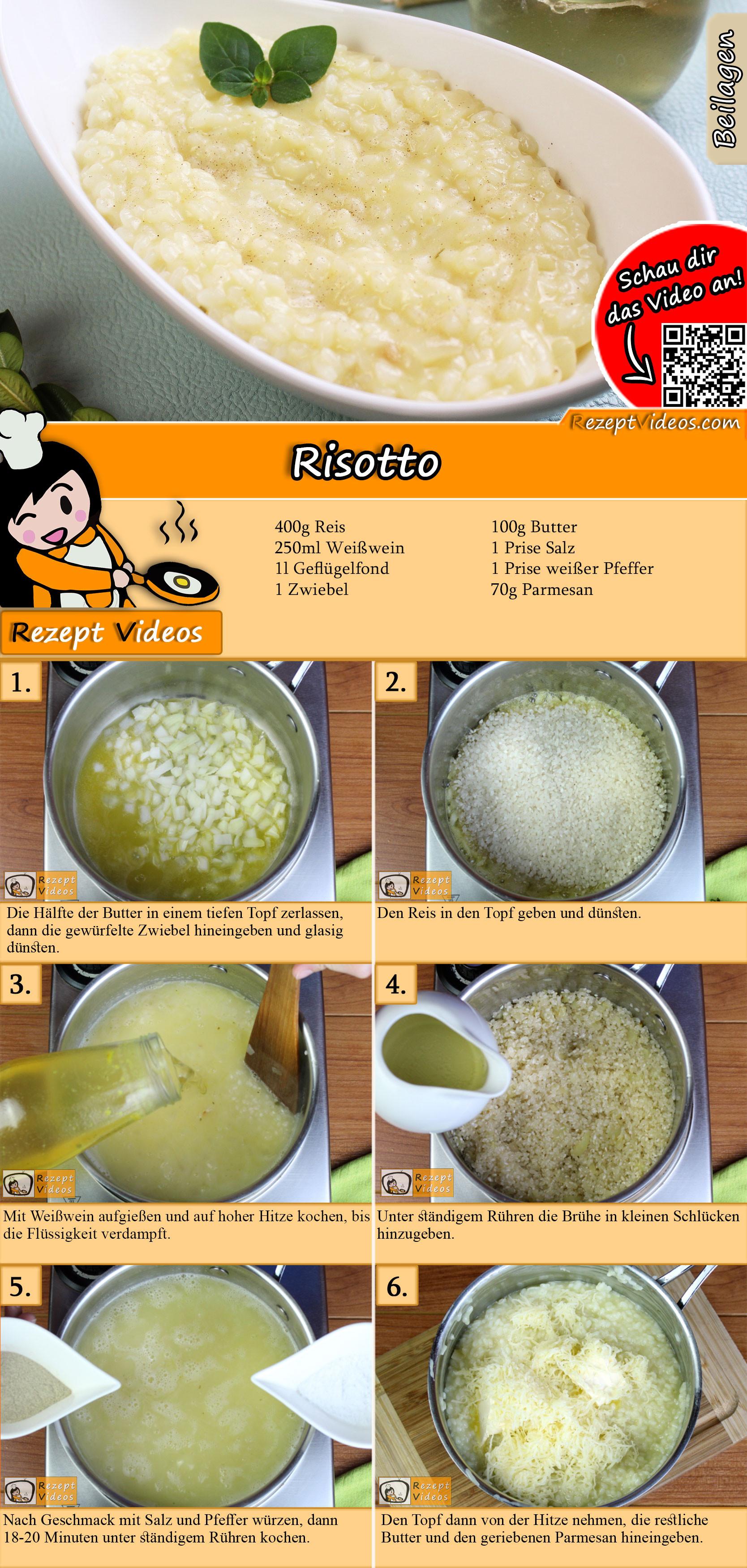 Risotto Rezept mit Video