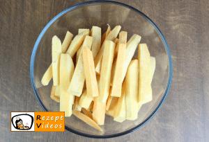 Süßkartoffel-Pommes Rezept - Zubereitung Schritt 1