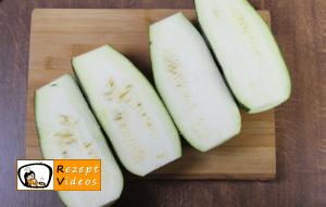 Gefüllte Zucchini Rezept - Zubereitung Schritt 1