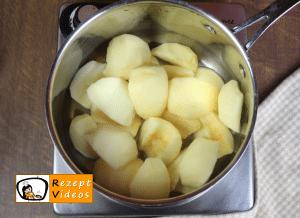Apfelkompott Rezept - Zubereitung Schritt 1
