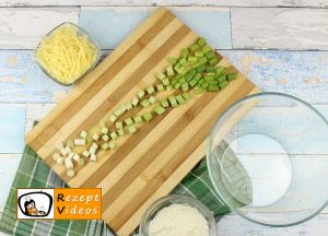 Gefüllte Kartoffeln im Speckmantel Rezept - Zubereitung Schritt 2