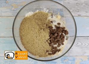amerikanische Schokoladenkekse Rezept - Zubereitung Schritt 3