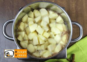 Eingemachte Äpfel Rezept - Zubereitung Schritt 3