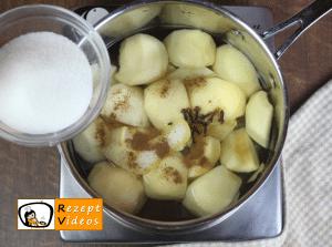 Apfelkompott Rezept - Zubereitung Schritt 3