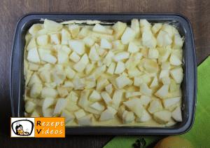 Apfelkuchen mit Streuseln Rezept - Zubereitung Schritt 4