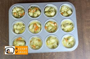Hähnchen Muffins Rezept - Zubereitung Schritt 6