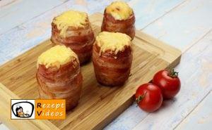 Gefüllte Kartoffeln im Speckmantel Rezept - Zubereitung Schritt 8