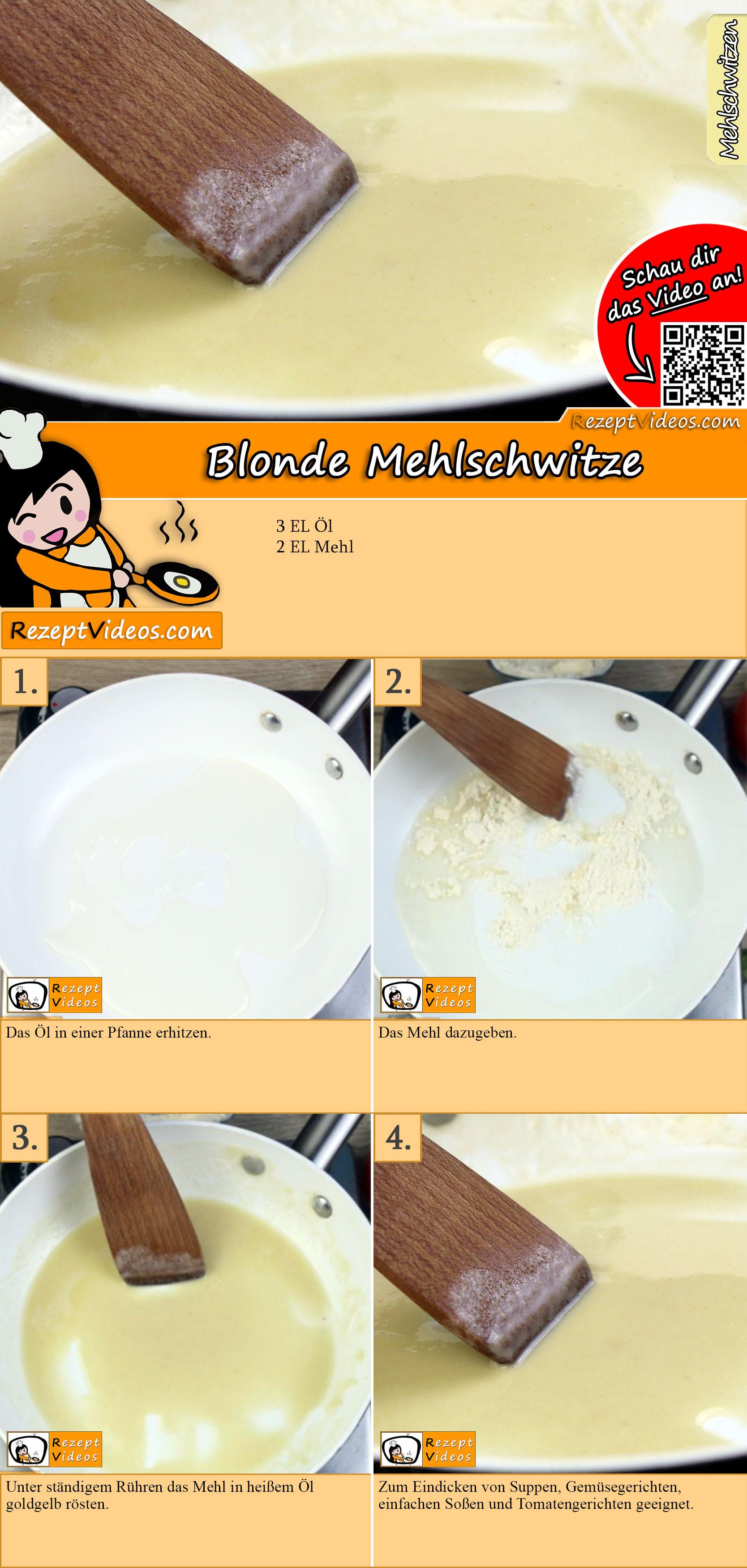 Blonde Mehlschwitze Rezept mit Video