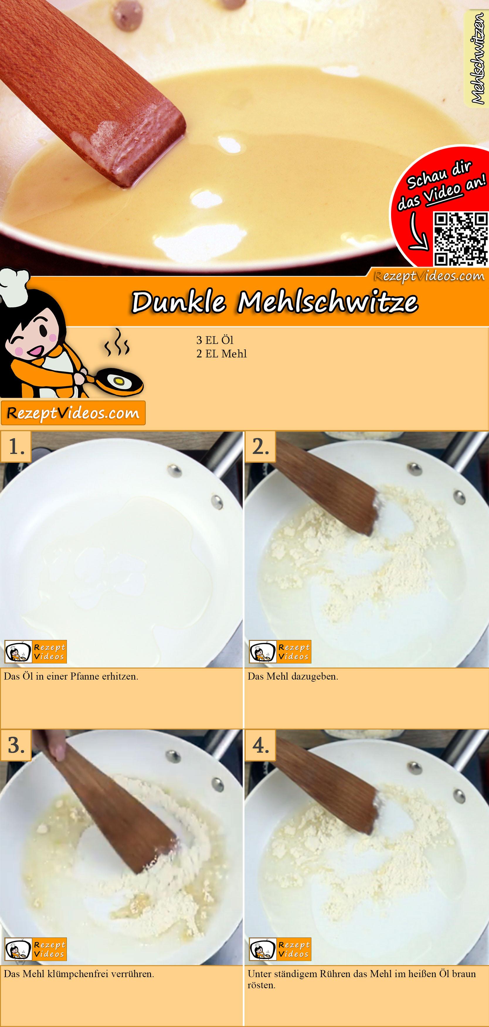 Dunkle Mehlschwitze Rezept mit Video