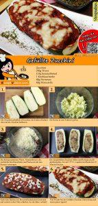 Gefüllte Zucchini Rezept mit Video