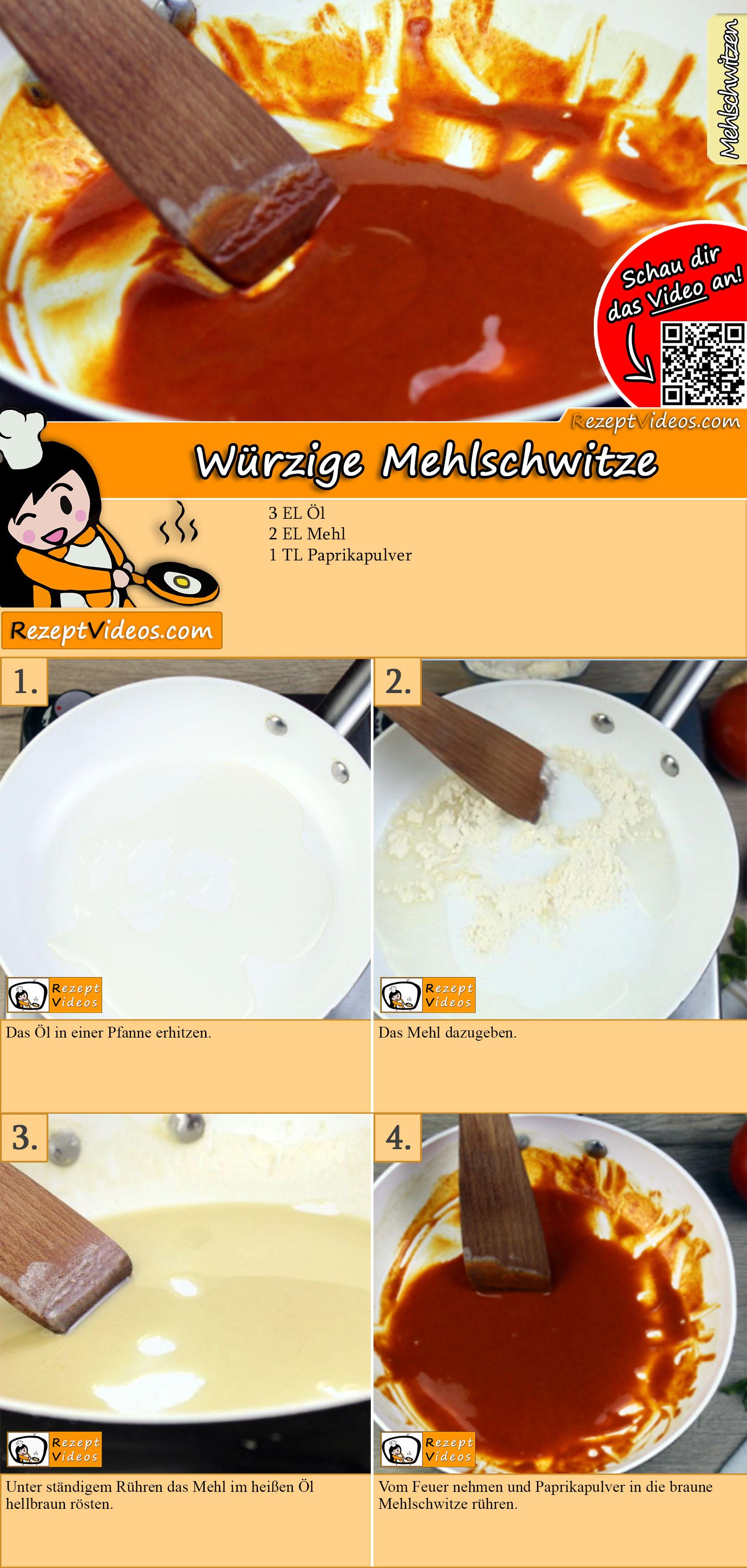 Würzige Mehlschwitze Rezept mit Video