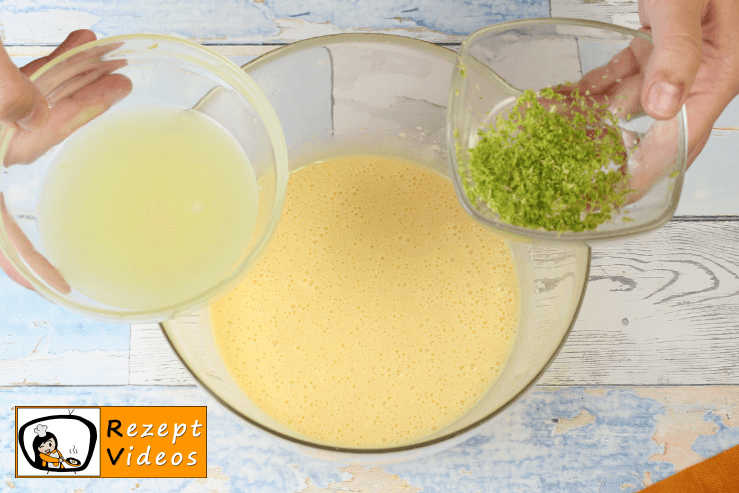 Key Lime Pie Rezept - Zubereitung Schritt 4