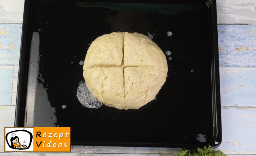 Irisches Soda-Brot Rezept - Zubereitung Schritt 5