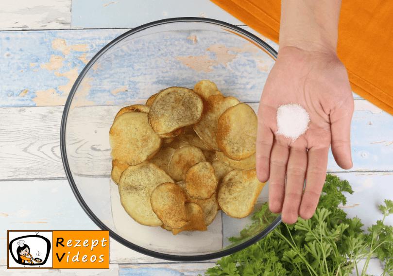 Chips Rezept - Zubereitung Schritt 6