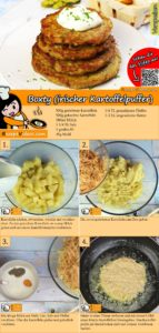 Boxty (irischer Kartoffelpuffer) Rezept mit Video
