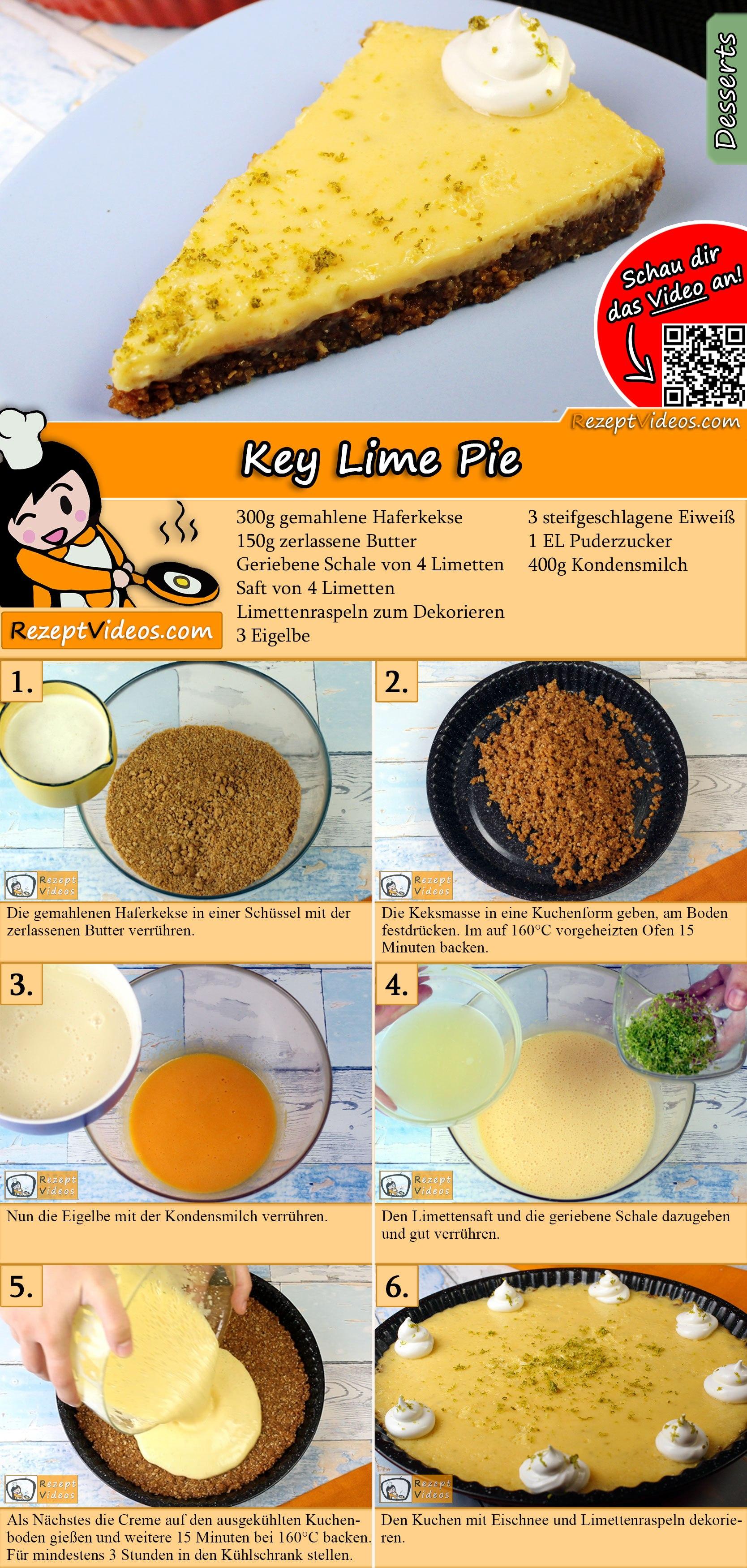Key Lime Pie Rezept mit Video