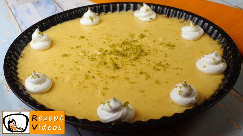 Key Lime Pie Rezept - Zubereitung Schritt 6