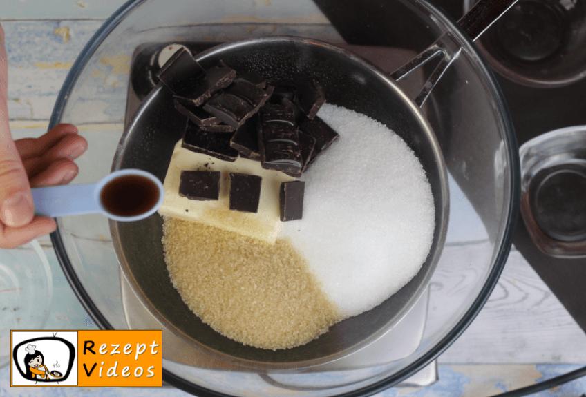 Brownie-Torte Rezept Zubereitung - Schritt 1