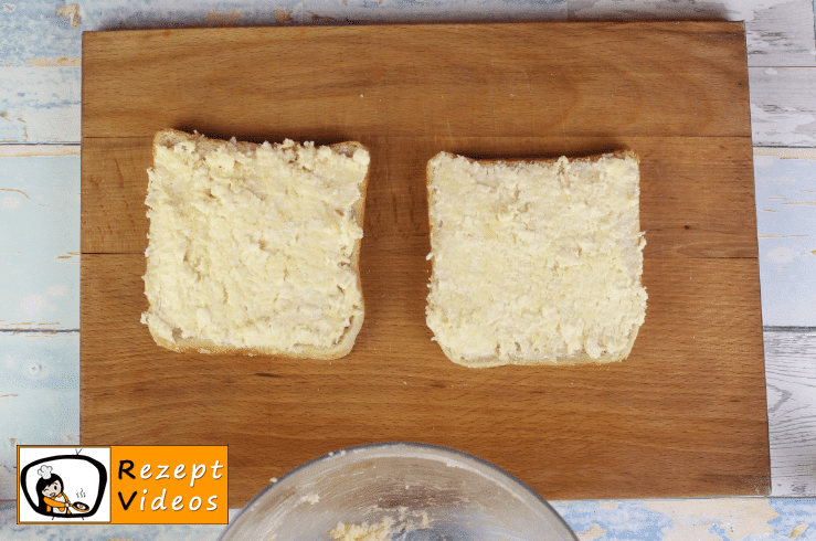 Käsesandwich Rezept - Zubereitung Schritt 2