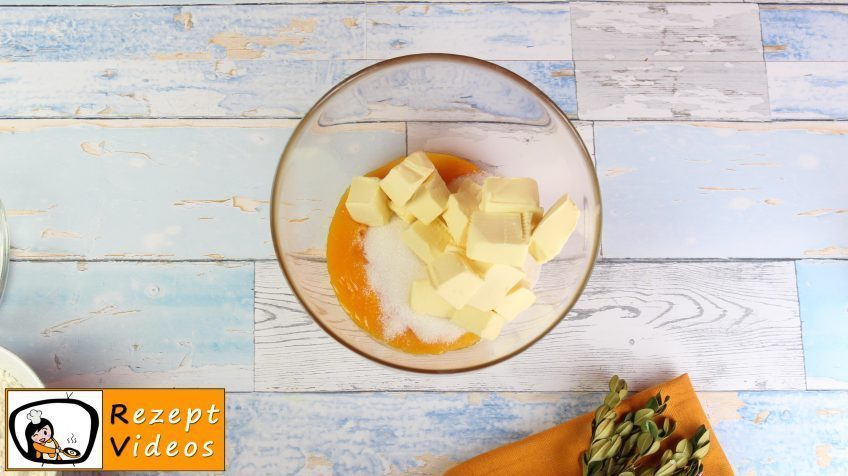 Apfel-Schaum-Würfel Rezept - Zubereitung Schritt 2