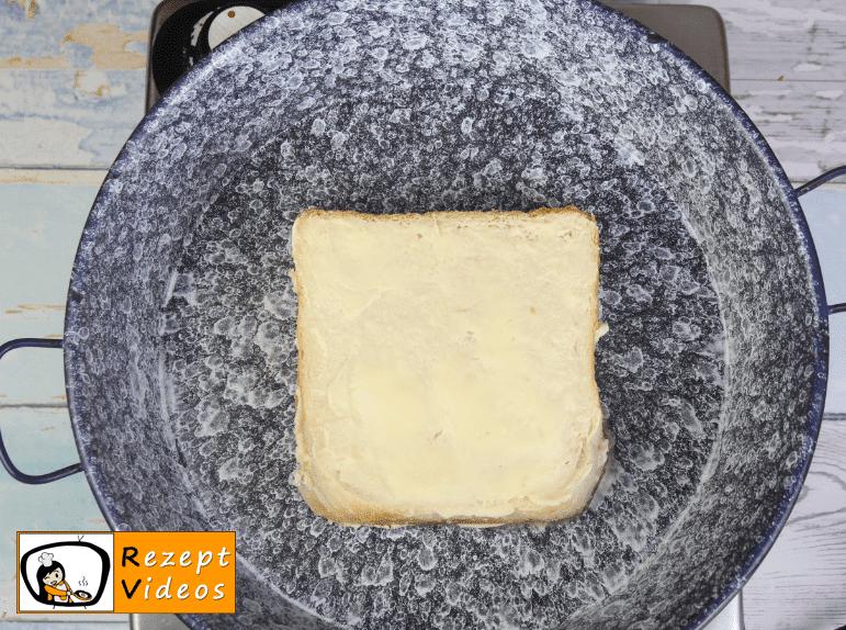 Käsesandwich Rezept - Zubereitung Schritt 3