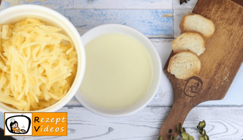 Käsefondue Rezept - Zubereitung Schritt 3