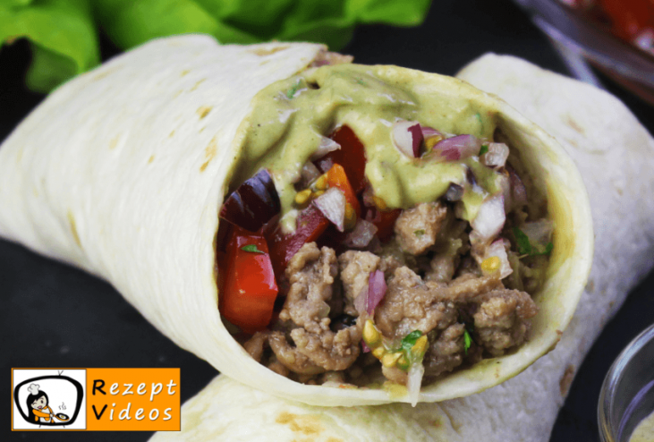 Burritos - Rezept Videos