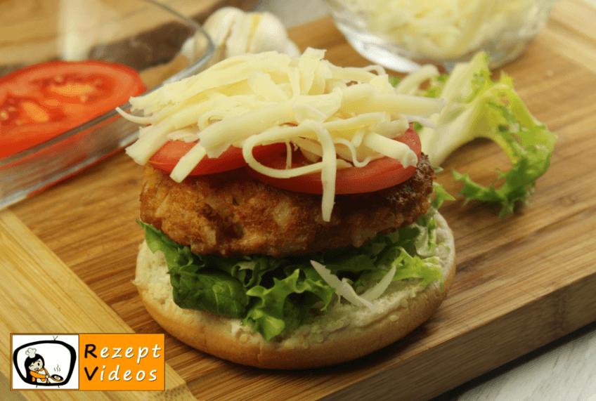 Veggie-Burger Rezept - Zubereitung Schritt 7
