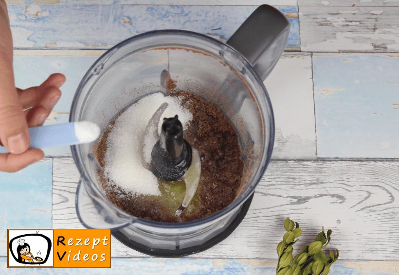 Minz-Schoko-Käsekuchen Rezept Zubereitung - Schritt 1