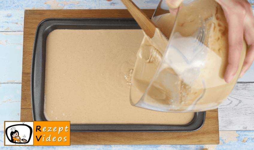 Minz-Schoko-Käsekuchen Rezept Zubereitung - Schritt 5