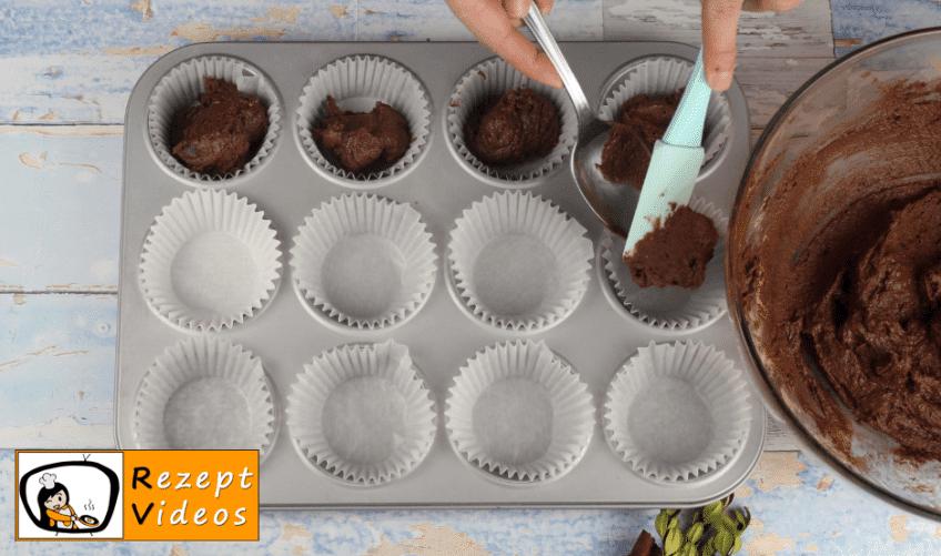 Weihnachts-Cupcakes mit Lichterkette Rezept - Zubereitung Schritt 5
