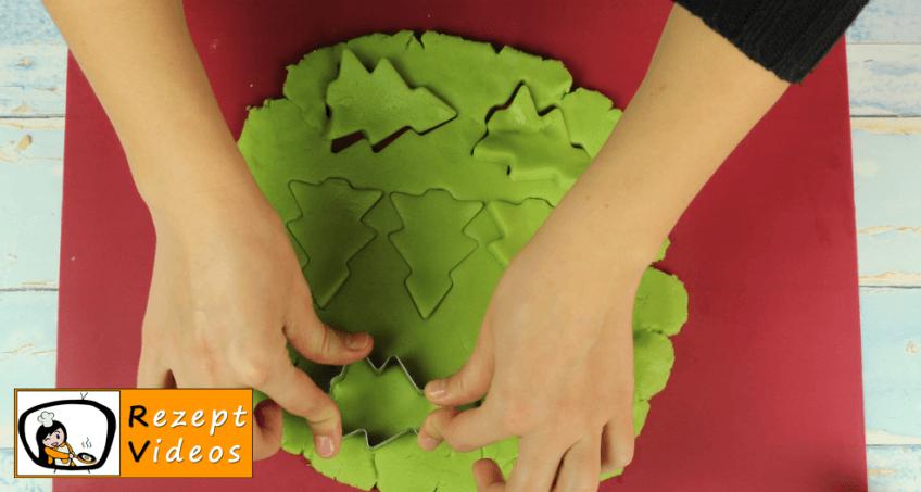 Tannenbaumkekse Rezept Zubereitung - Schritt 6