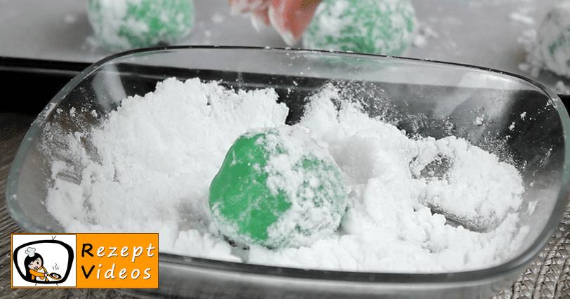 Grinch-Kekse Rezept Zubereitung - Schritt 5