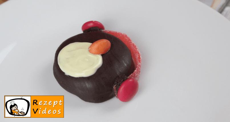 Oreo-Pinguine Rezept - Zubereitung Schritt 3