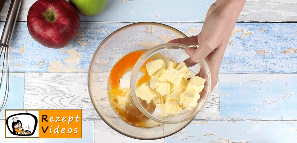 Apfel-Birnenkuchen Rezept Zubereitung - Schritt 2