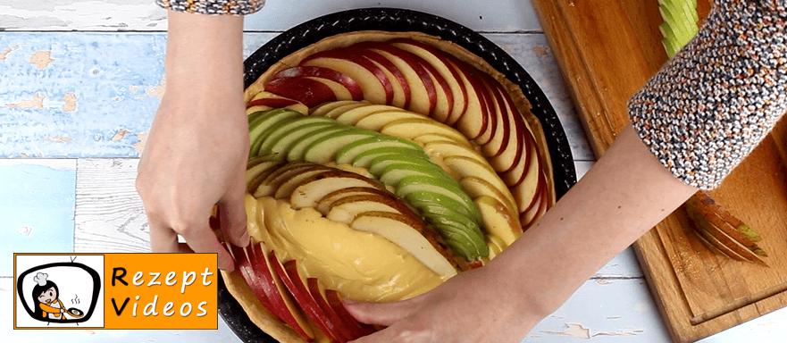 Apfel-Birnenkuchen Rezept Zubereitung - Schritt 6