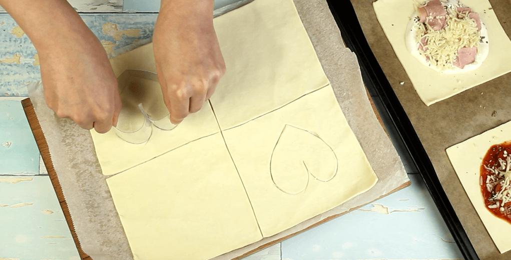Blätterteigkissen Rezept Zubereitung - Schritt 6
