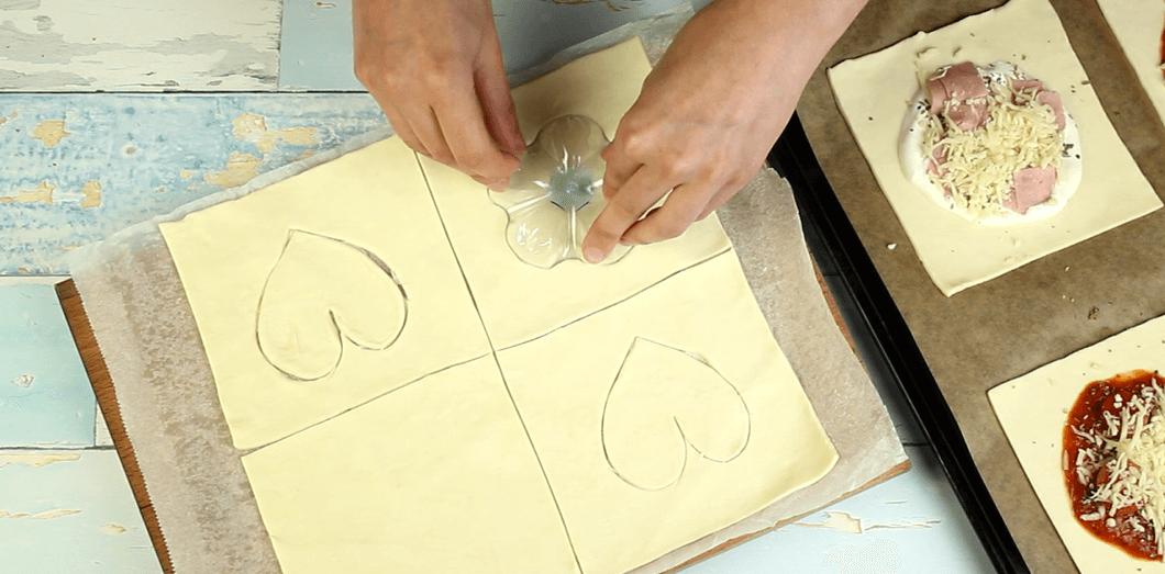 Blätterteigkissen Rezept Zubereitung - Schritt 7
